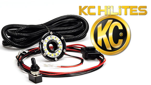 Cyclone LED Accessory Light Kit w/Switch & Harness
