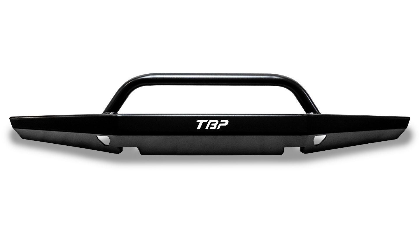 Impact Series Front Bumper, Flat Top w/Pre-Runner Bar