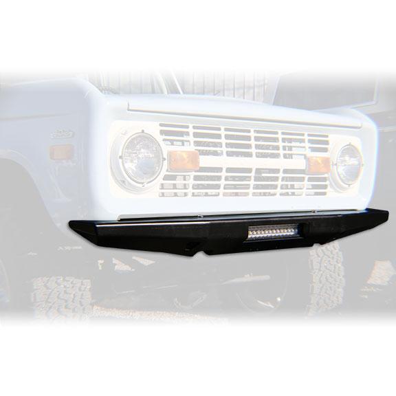Impact Series Front Bumper, Flat Top