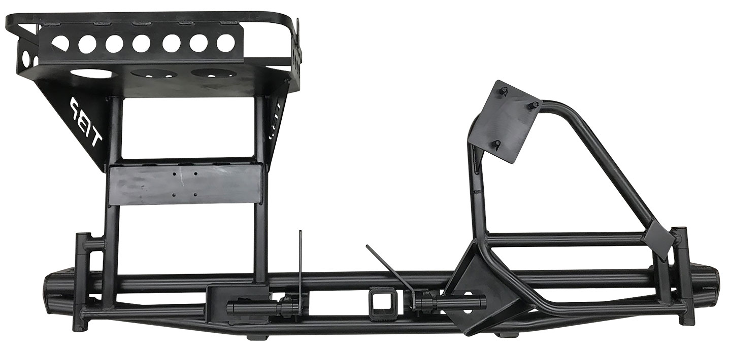 Ultimate Rear Pre-Runner Bumper w/Tire, Cooler & Rotopax Racks