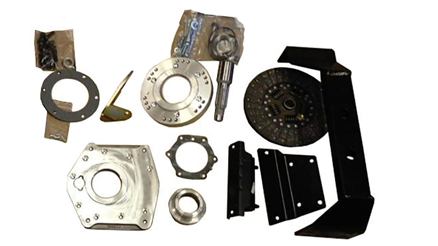 NV3550 5-speed Transmission Install Kit, SBF to Dana 20, 66-77 Ford Bronco