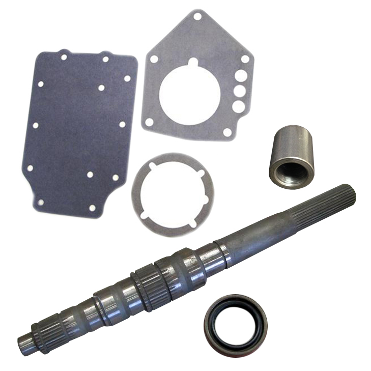 Transmission Adapter Shaft Kit - Truck T&C Overdrive 4-spd