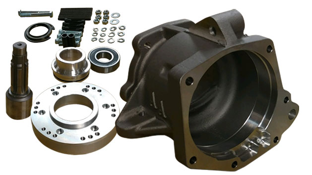 Transfer Case Adapter - AOD/AODE/4R70W 4WD to Dana 20 Adapter