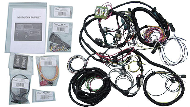 Centech Wiring Harness w/OE Style Ignition Switch