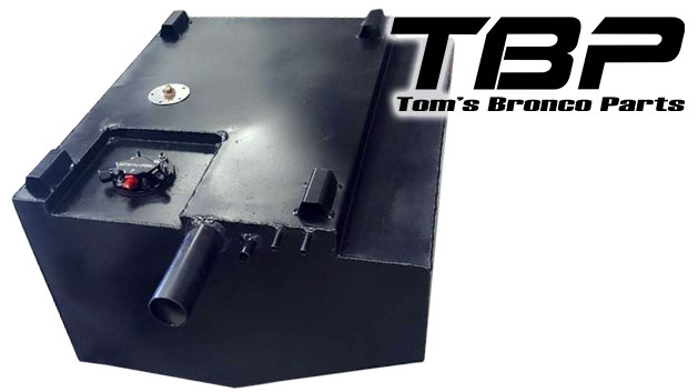 Rear/Main Fuel Tank Kit - 23 Gallon, EFI w/Hyperfuel Pump
