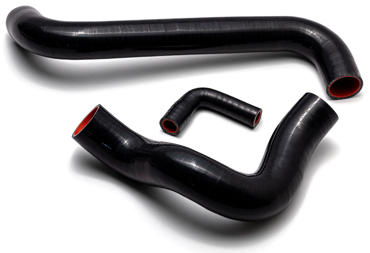 Silicone Radiator Hose Kit (Upper, Lower & Bypass Hoses), V8
