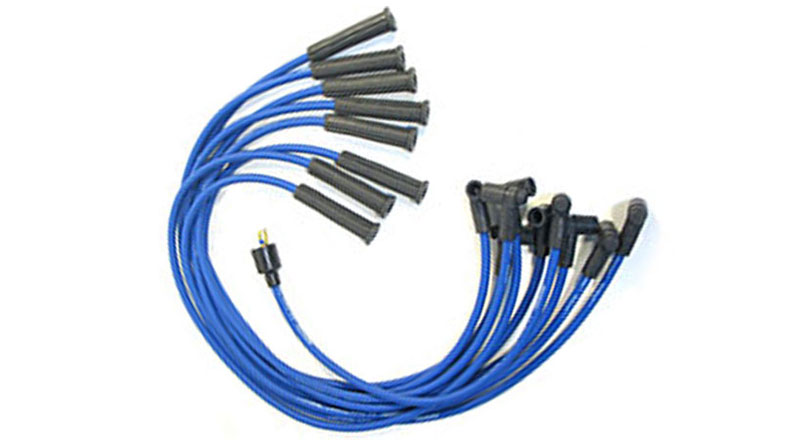 8mm Spark Plug Wires Upgrade, 1977 Early Ford Broncos (66-76 Broncos w/HEI)