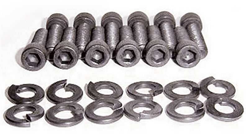 Valve Cover Mounting Bolt Kit - Black