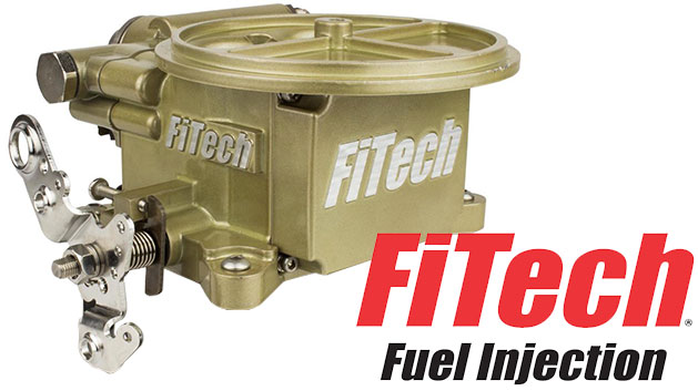 FiTech GoEFI 2, 400 HP EFI, Gold Finish