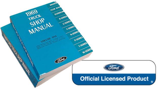 1969 Ford Truck Shop Manual Reprint