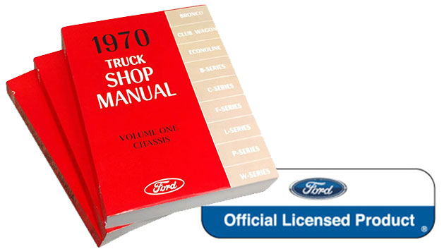 1970 Ford Truck Shop Manual Reprint