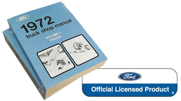 1972 Ford Truck Shop Manual Reprint