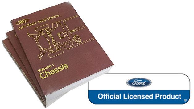 1974 Ford Truck Shop Manual Reprint