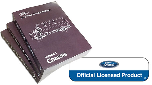 1975 Ford Truck Shop Manual Reprint
