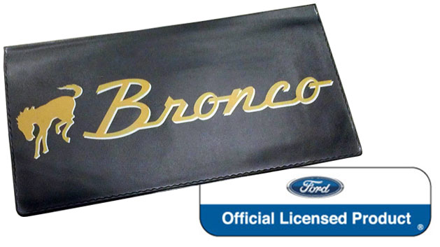 """Bronco"" Script Owner's Manual Wallet, 66-73 Bronco"