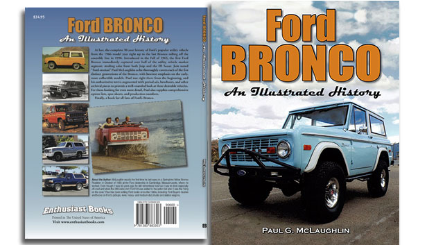 Ford Bronco - An Illustrated History by Paul G. McLaughlin