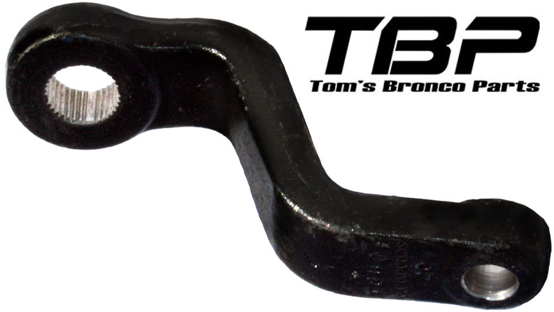 Fully Indexed Drop Pitman Arm - 1966 & 76-77 Ford Bronco