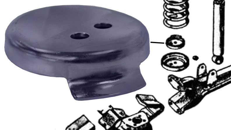 Coil Cup Retainer, (each)