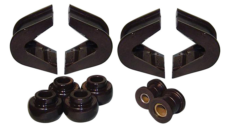 14 pc C-Bushing Kit - 2 Degree for Stock Suspension, 66-75 Ford Bronco