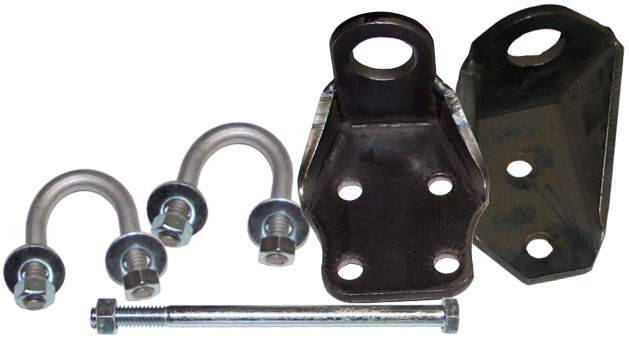 Steering Stabilizer Brackets, 76-77 Ford Bronco, Pair