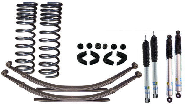 Stock Premium Suspension Kit System w/ Bilstein Shocks - Stage 1, 66-77 Ford Bronco