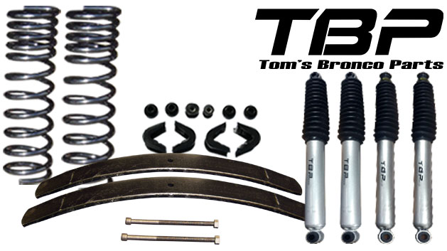 """2.5"""" Suspension Lift Kit System - Stage 2"""