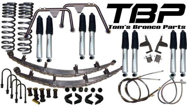 "2.5"" Suspension Lift Kit System - Stage 5"