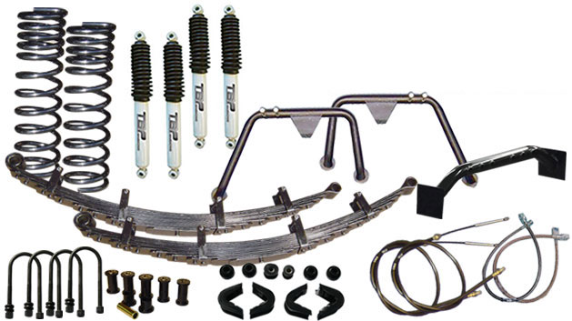 "2.5"" Long Travel Suspension Lift Kit System"
