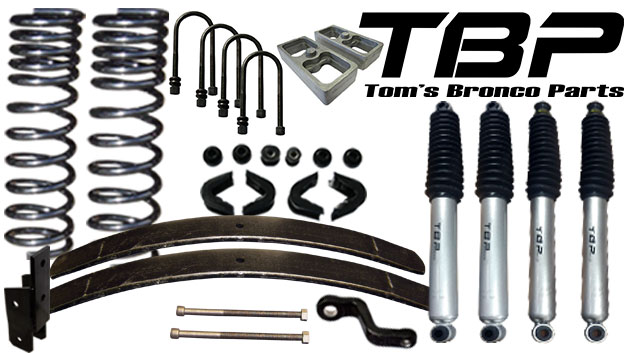 "3.5"" Suspension Lift Kit System - Stage 6"