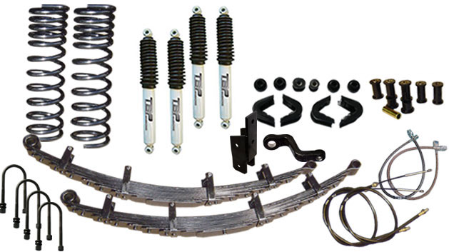 "5.5"" Suspension Lift Kit System - Stage 11"