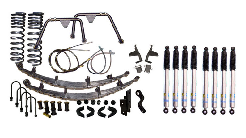 "3.5"" Premium Suspension Lift Kit System w/ Bilstein Shocks - Stage 9"