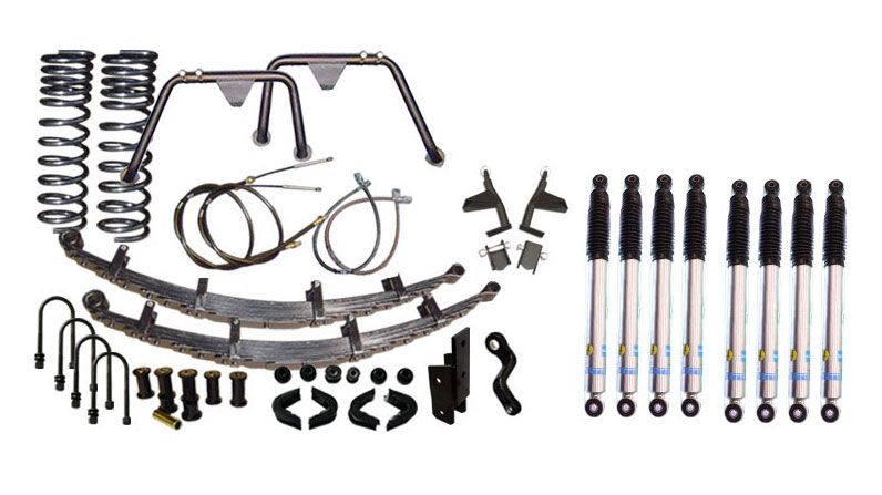 "5.5"" Premium Suspension Lift Kit System w/ Bilstein Shocks - Stage 10"