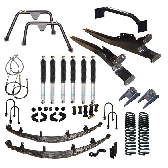 "5.5"" Premium Suspension Lift Kit Long Arm System w/ Bilstein Shocks - Stage 12"