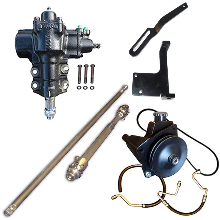 MAJOR Power Steering Conversion Kit - 6 cylinder