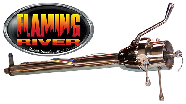 Tilt Steering Column, Polished Stainless, Automatic