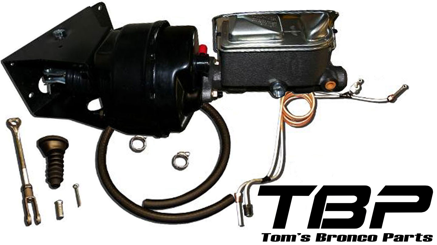 Power Brake Kit w/Drum Brake Lines