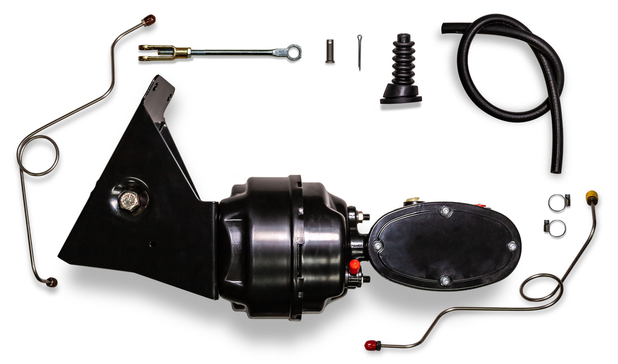 Power Brake Kit w/ Billet Master Cylinder