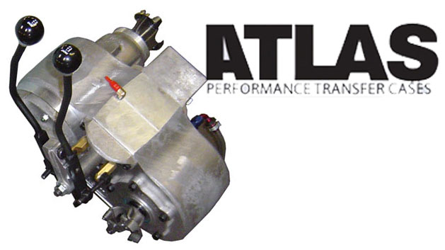 Atlas II Transfer Case - Select Ratio & Attributes