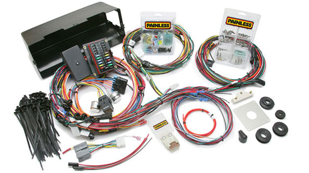 PAINLESS 28 Circuit Wiring Harness for 66-77 Ford Bronco