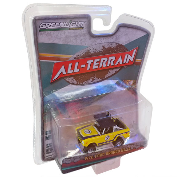 1972 Ford Bronco - Baja Racer, All Terrain Series 6, 1:64 Die Cast