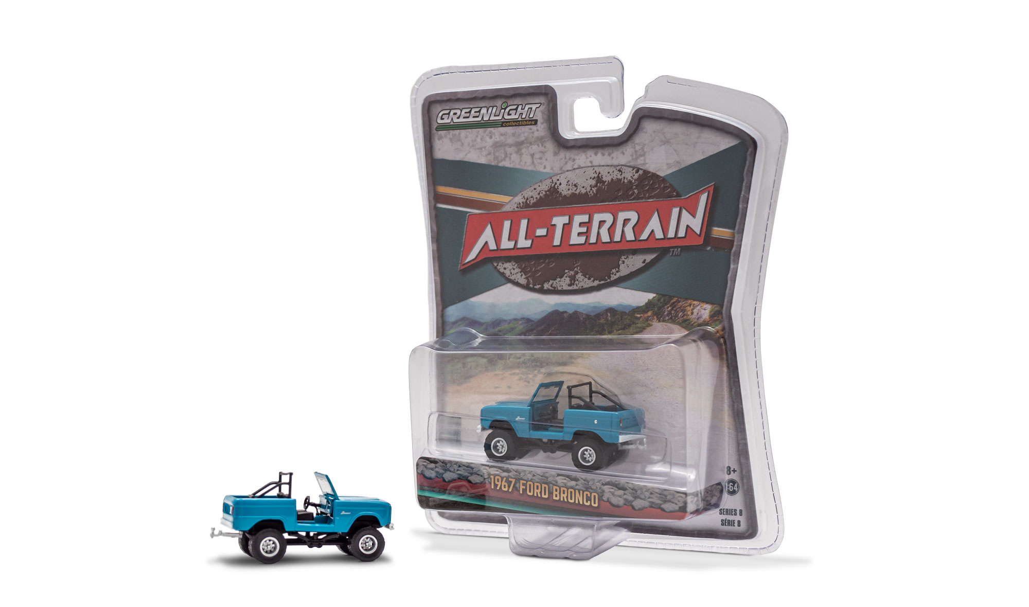 1967 Ford Bronco - Blue Roadster 'All Terrain' Series 8