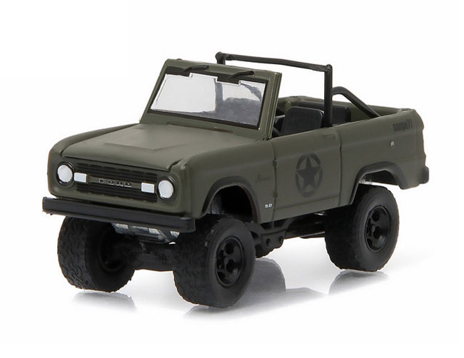 "1977 Ford Bronco - Military Tribute ""Sarge 77"", 1:64 Die Cast"