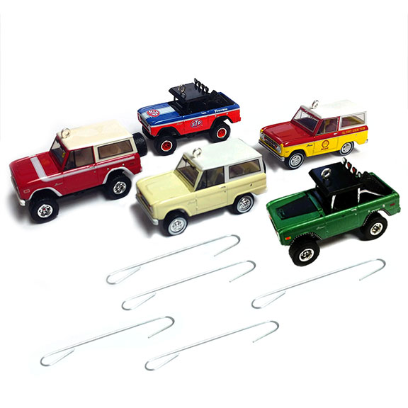 Christmas Ornaments - Set of 5, Limited Edition, 1:64 Die Cast