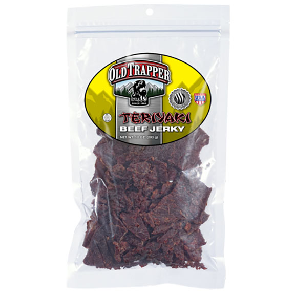 Old Trapper Beef Jerky - Terriyaki, 10 oz Bag