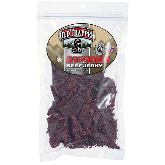 Old Trapper Beef Jerky - Old Fashioned, 10 oz Bag