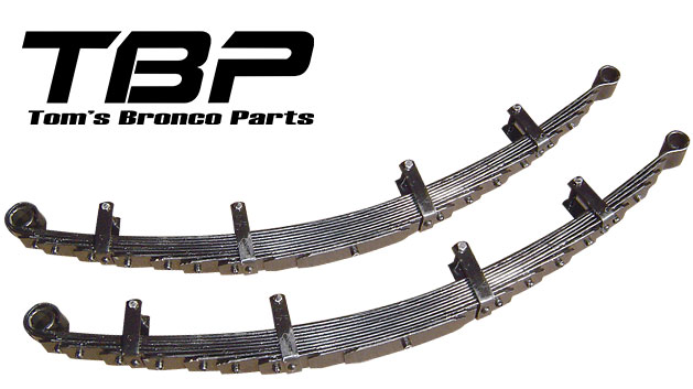 Leaf Springs - 5.5'', ULTRA-FLEX, 9-pk (pair)