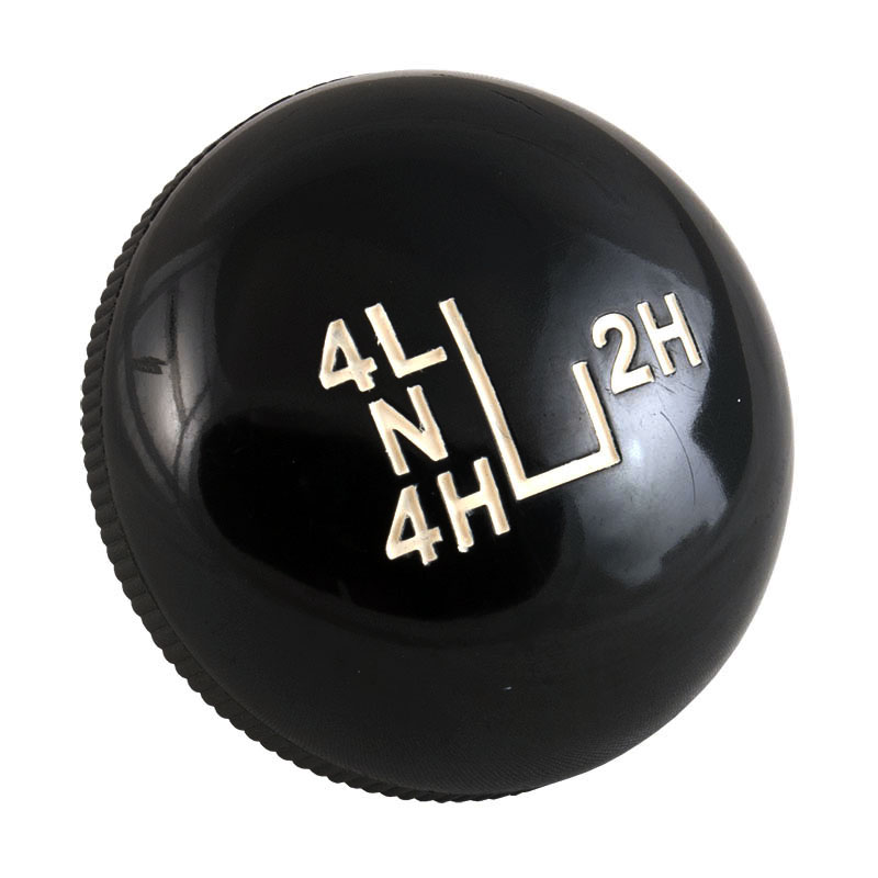 Shift Knob - J-style Transfer Case, OE Style, 73-77 Ford Bronco