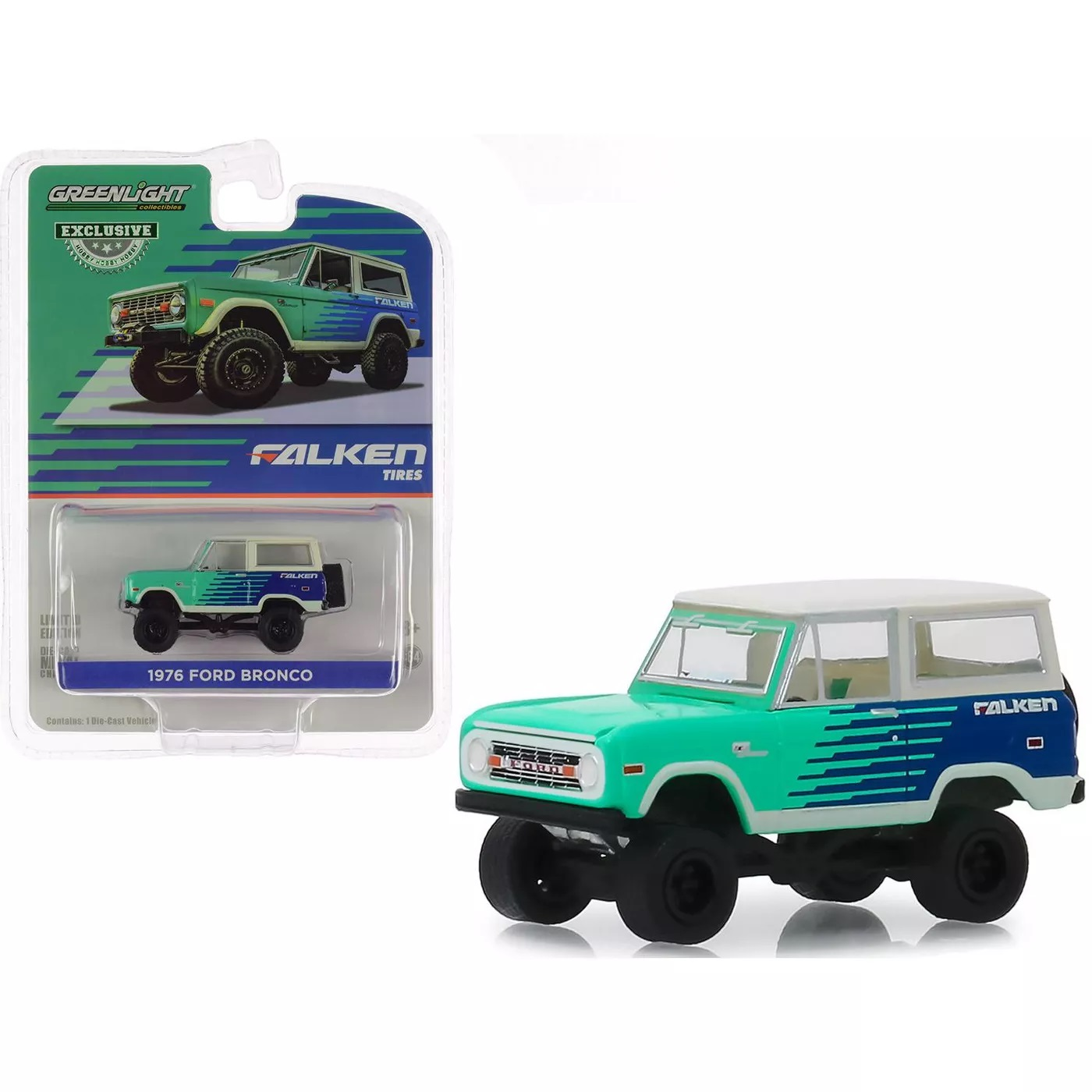 1976 Ford Bronco - Falken Tires, 1:64 Die Cast