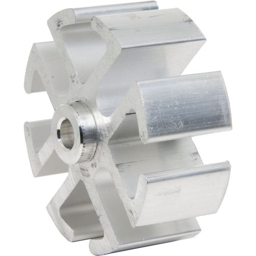 "Fan Spacer, 1"", Mill Finish"