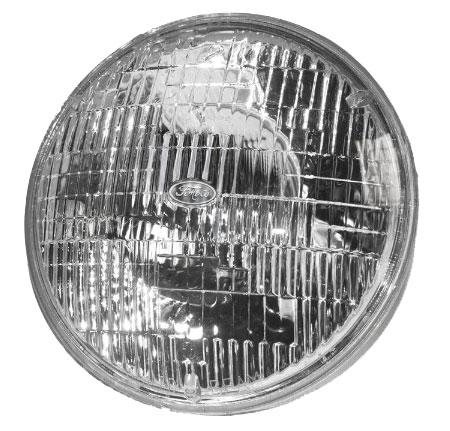 "Halogen 7"" Headlight with FoMoCo Script"